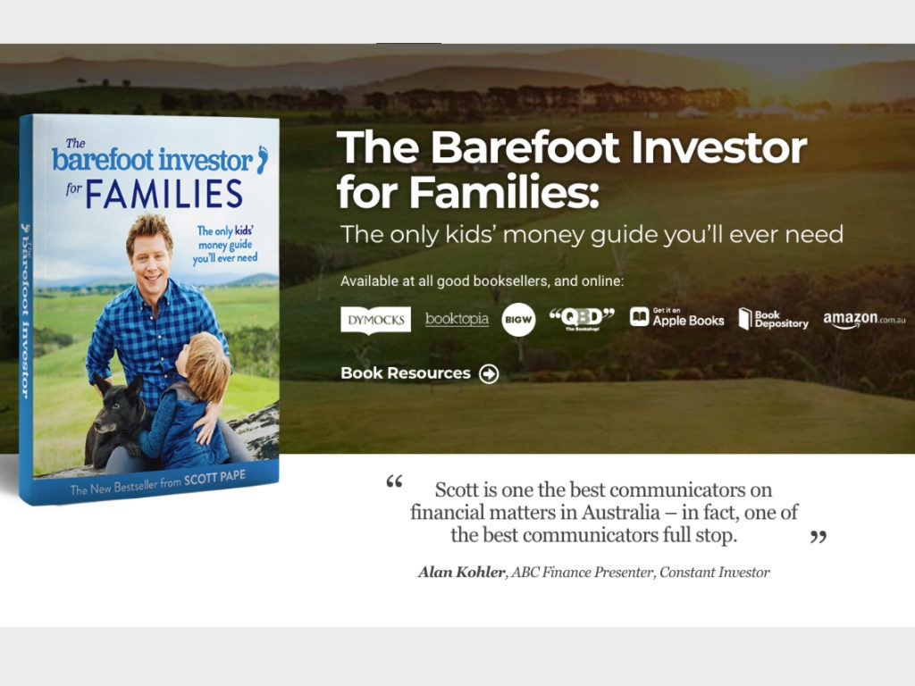 Barefoot Investor Review by Mike Beal Financial Planner Sunshine Coast